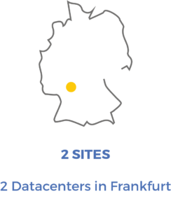 Map DataCenters in Germany for Arkhineo