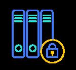 picto de 3 datacenters sécurisés