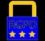 cadenas avec RGPD écrit dessus
